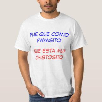 La camiseta de los hombres colombianos chistosos