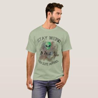 """La camiseta"""" de los hombres coloridos extranjeros camiseta"""