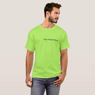 La camiseta de los hombres con el logotipo del
