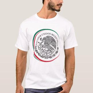 La camiseta de los hombres con México/el