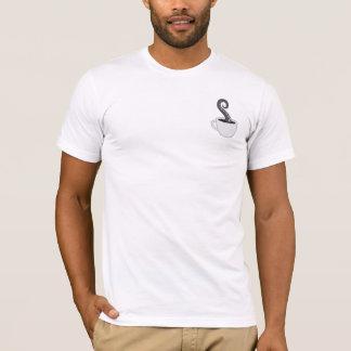 La camiseta de los hombres de BLC 2016, blanca con