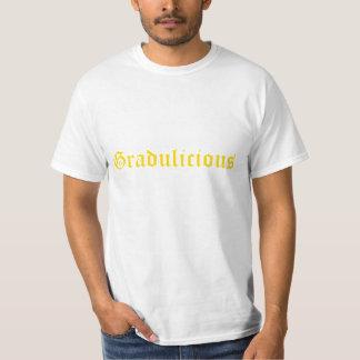 """La camiseta de los hombres de """"Gradulicious"""""""