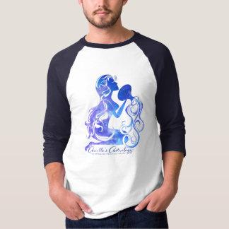 La camiseta de los hombres de la astrología del