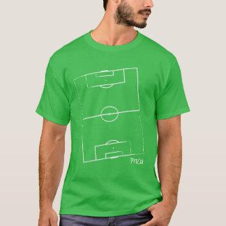 La camiseta de los hombres de la echada del fútbol