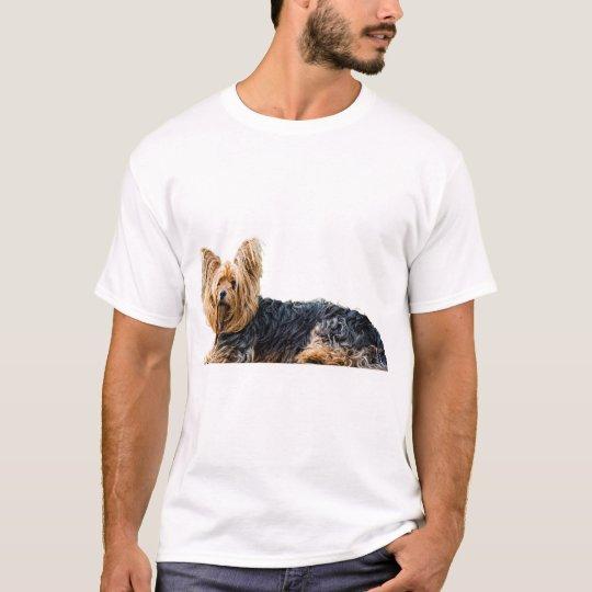 La camiseta de los hombres de la imagen del perro