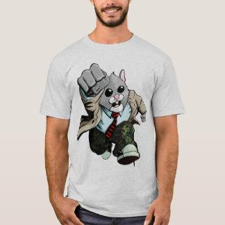 La camiseta de los hombres de la rabia del hámster