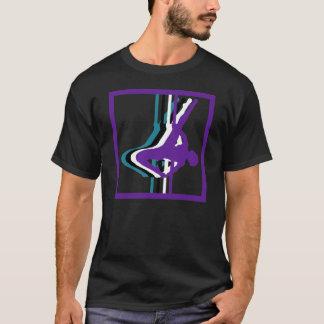 La camiseta de los hombres de la silueta de la
