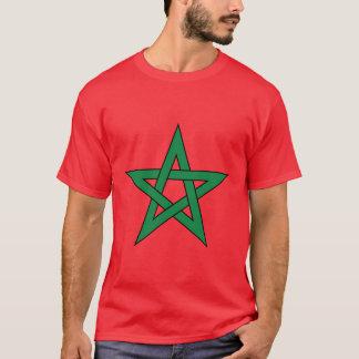 La camiseta de los hombres de Marruecos