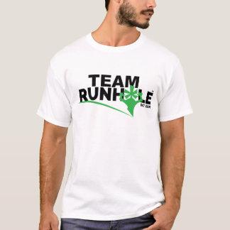 La camiseta de los hombres de Runhole