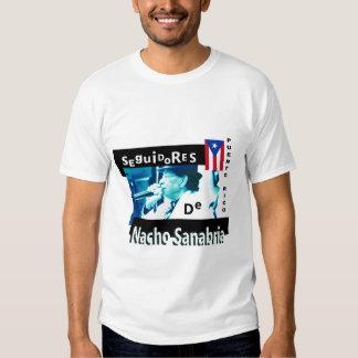 La camiseta de los hombres de Seguidores de Nacho