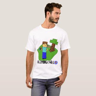 La camiseta de los hombres de Skyblocker orgulloso