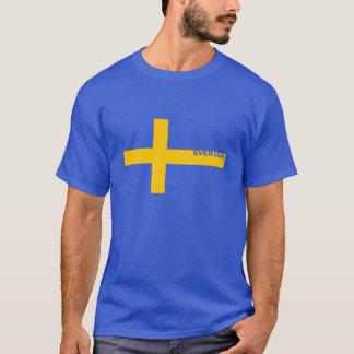 La camiseta de los hombres de Sveriga S