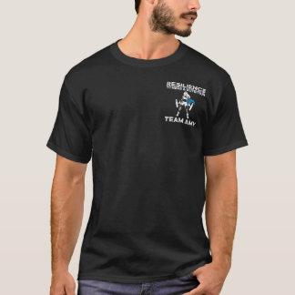 La camiseta de los hombres del Amy del equipo