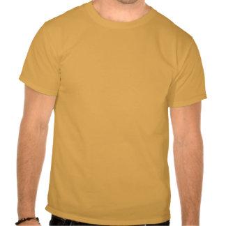 La camiseta de los hombres del azúcar de Brown