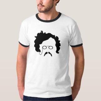La camiseta de los hombres del bigote de G K