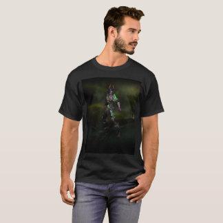 la camiseta de los hombres del cazador del demonio