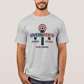 La camiseta de los hombres del control mental