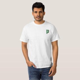La camiseta de los hombres del día de fiesta de