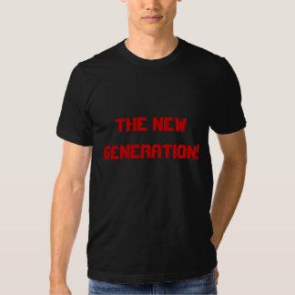 La camiseta de los hombres del eslogan