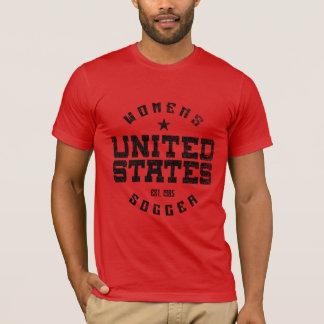 La camiseta de los hombres del Grunge del fútbol