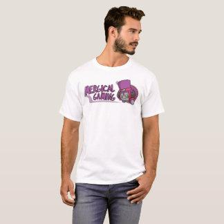La camiseta de los hombres del logotipo del juego