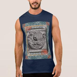 La camiseta de los hombres del paraíso del coco