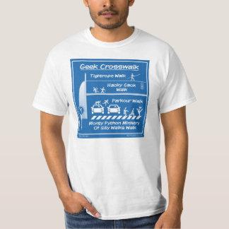 """""""La camiseta de los hombres del paso de peatones"""