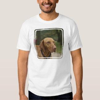 La camiseta de los hombres del perro de Rhodesian