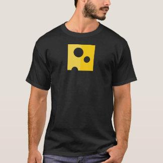 La camiseta de los hombres divertidos del queso