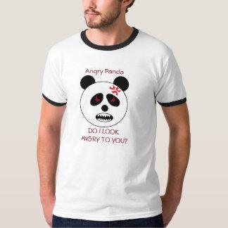 La camiseta de los hombres enojados de la panda