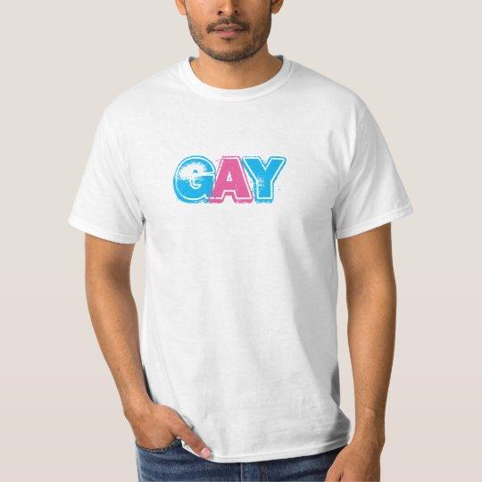 La camiseta de los hombres GAY