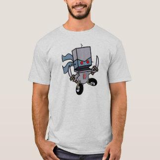 La camiseta de los hombres grandes del logotipo de