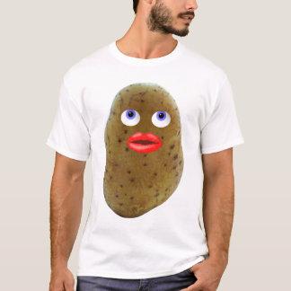 La camiseta de los hombres lindos del carácter de