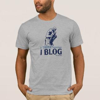 La camiseta de los hombres (pienso, por lo tanto