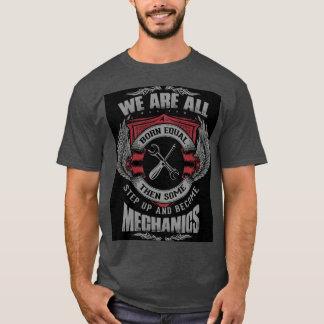 La camiseta de los mecánicos