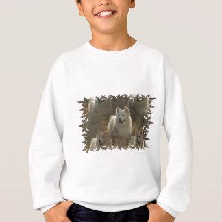 La camiseta de los niños de la raza del perro del