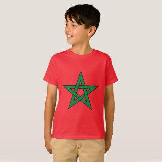 La camiseta de los niños de Marruecos