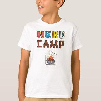 La camiseta de los niños del campo del empollón
