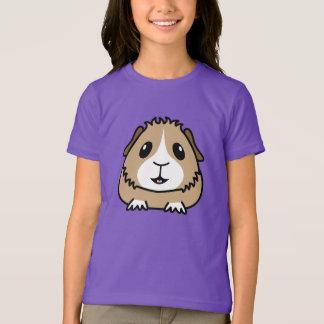 La camiseta de los niños del conejillo de Indias