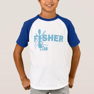 La camiseta de los niños del laboratorio de Fisher