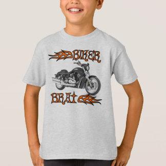 La camiseta de los niños del palo de golf del
