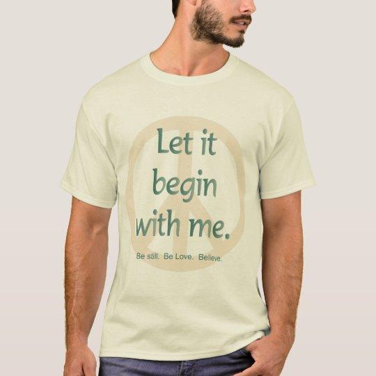 La camiseta de los principios