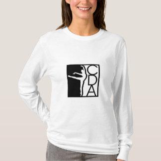 La camiseta de manga larga de las mujeres