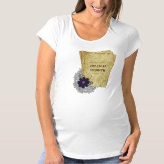 La camiseta de maternidad de las mujeres