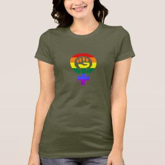 La camiseta de Power Mujer de la mujer de la