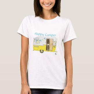 La camiseta de Shasta que acampa de la mujer