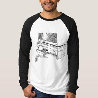 la camiseta del amante del conejito