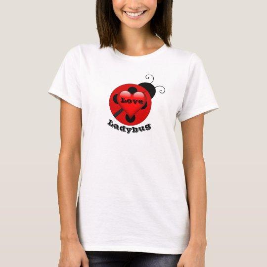 La camiseta del amor de las mujeres divertidas