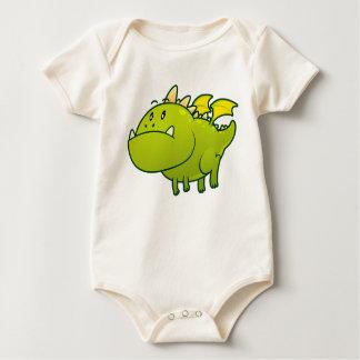 La camiseta del bebé rechoncho del dragón
