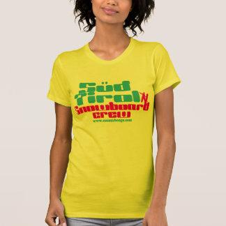 La camiseta del bongo del Sud del Tirol de las muj